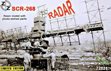 SCR-268 radar · ZZ 72021 ·  ZZ Modell · 1:72