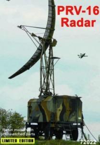 PRV-16 radar · ZZ 72022 ·  ZZ Modell · 1:72