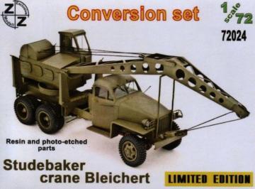 Studebaker Crane Bleichert (Conversion Set) · ZZ 72024 ·  ZZ Modell · 1:72