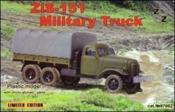 Zis-151 military truck · ZZ 87002 ·  ZZ Modell · 1:87