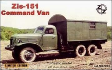 Zis-151 command van · ZZ 87003 ·  ZZ Modell · 1:87