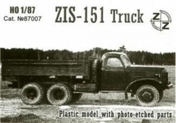 ZiS-151 truck · ZZ 87007 ·  ZZ Modell · 1:87