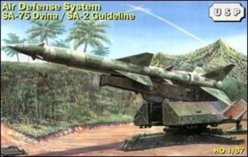 SA-75 Dvina/SA-2 Guideline air defense · ZZ 87011 ·  ZZ Modell · 1:87