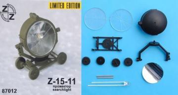 Z-15-11 searchlight · ZZ 87012 ·  ZZ Modell · 1:87