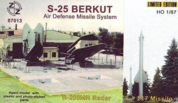 S-25 Berkut air defense missile system · ZZ 87013 ·  ZZ Modell · 1:87