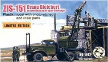 ZiS-151 Crane Bleichert · ZZ 87015 ·  ZZ Modell · 1:87