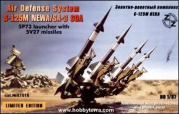 S-125M Neva/SA-3 GOA air defense · ZZ 87016 ·  ZZ Modell · 1:87