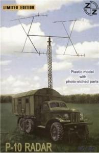 P-10 Soviet radar vehicle · ZZ 87025 ·  ZZ Modell · 1:87