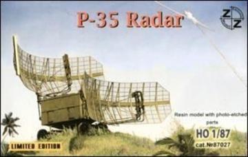 P-35 Soviet radar vehicle · ZZ 87027 ·  ZZ Modell · 1:87