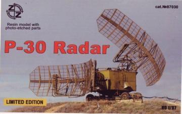 P-30 Soviet radar vehicle · ZZ 87030 ·  ZZ Modell · 1:87