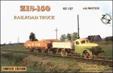 ZiS-150 Soviet railroad truck · ZZ 87035 ·  ZZ Modell · 1:87