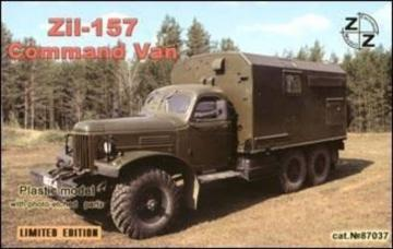 ZiL-157 Soviet command van · ZZ 87037 ·  ZZ Modell · 1:87