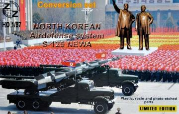 Conversion Set.S-125 Newa North Korean airdefense system · ZZ 87100 ·  ZZ Modell · 1:87