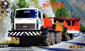 Volat MZKT74132 Truck-Tractor · ZZ 87201 ·  ZZ Modell · 1:87