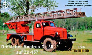 Drehleiter Magirus DL30 auf Zil-157 - Limited Edition · ZZ 87202 ·  ZZ Modell · 1:87