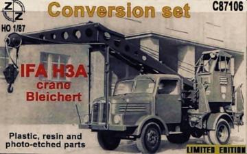 IFA H3A Crane Bleichert,Conversion Set · ZZ C87106 ·  ZZ Modell · 1:87