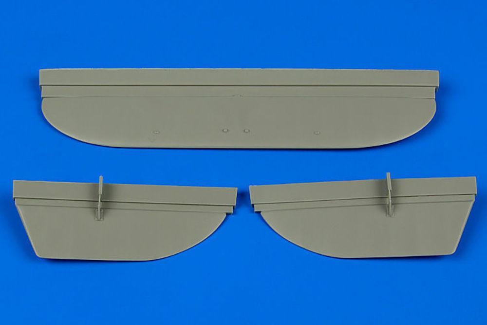 U-2/Po-2 - Control surfaces