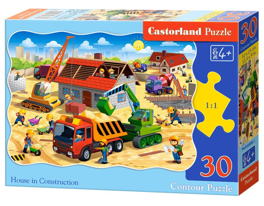 House in Construction - Puzzle - 30 Teile