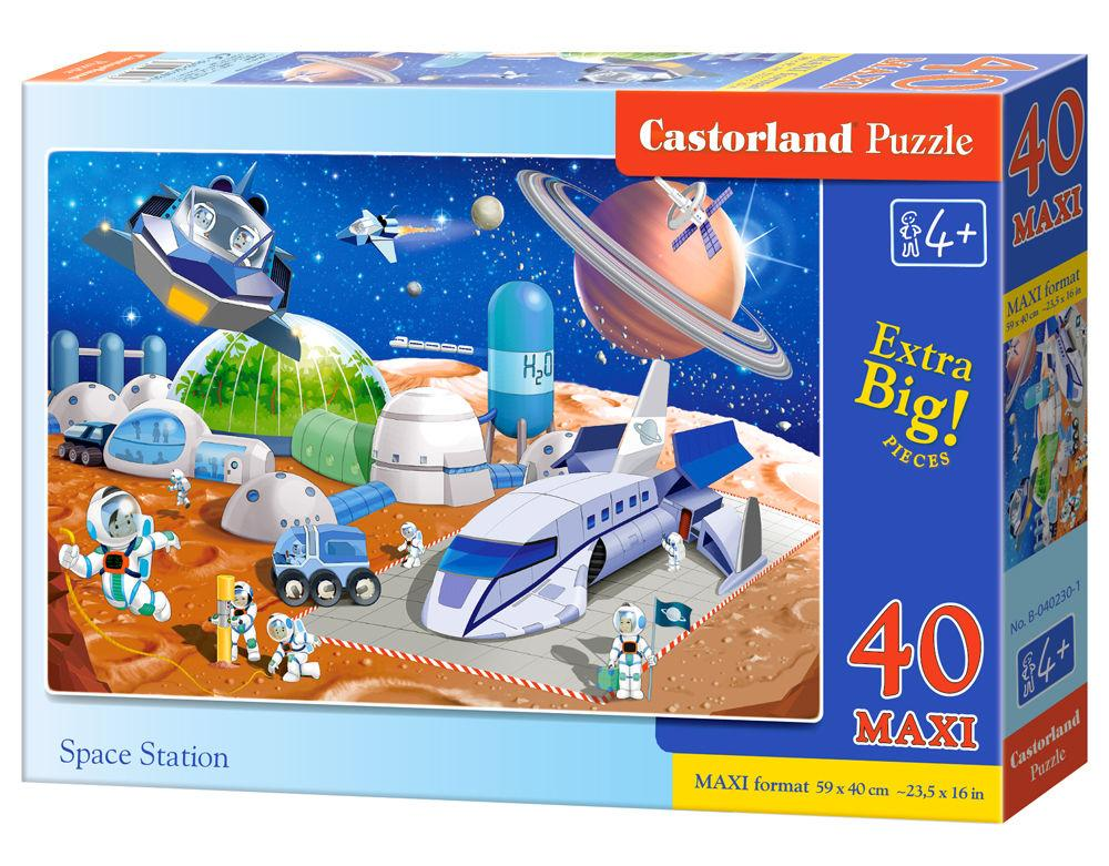 Space Station - Puzzle - 40 Teile maxi