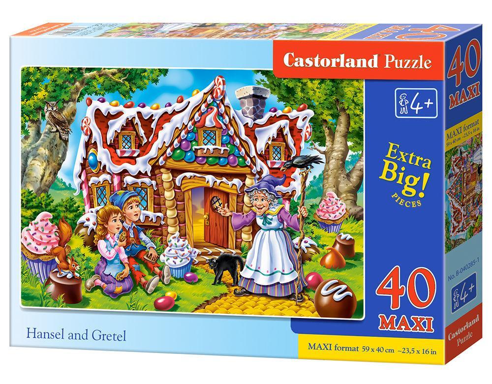 Hansel and Gretel - Puzzle - 40 Teile maxi
