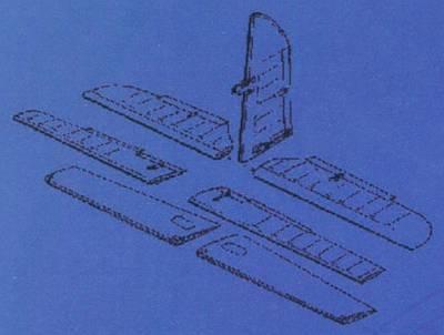 Me-410B - Control surfaces
