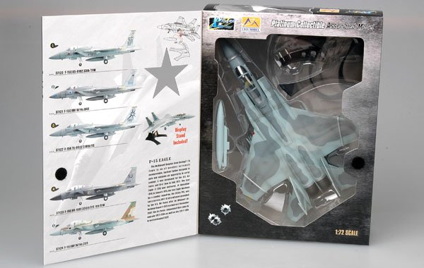58 TFS//33 TFW 1991 Fertigmodell in 1:72 EASY MODEL® 37120 F-15C 85-0102// EG