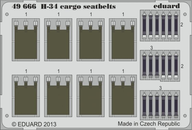 H-34 cargo - Seatbelts [Gallery Models]