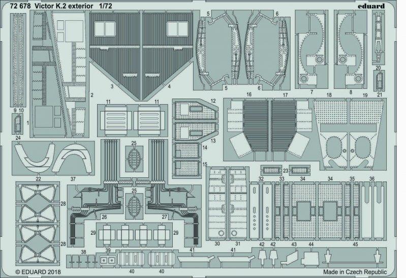 Handley Page Victor K.2 - Exterior [Airfix]