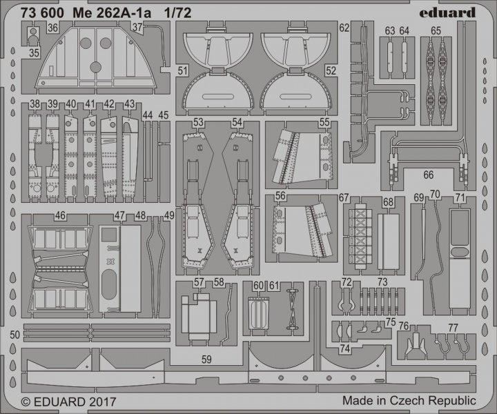 Messerschmitt Me 262A-1a [Airfix]
