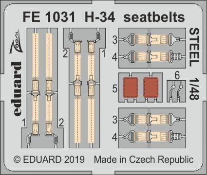 H-34 - Seatbelts STEEL [Gallery Models]