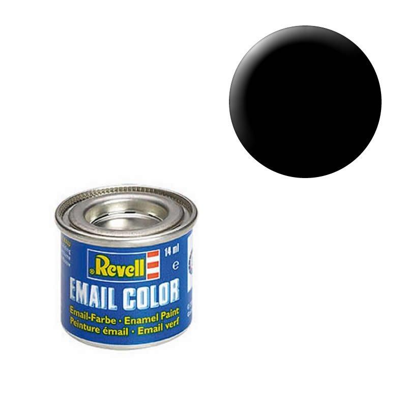 Schwarz (seidenmatt) - Email Color - 14ml