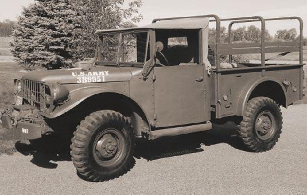 Dodge M-37 3/4 ton 4x4 cargo truck