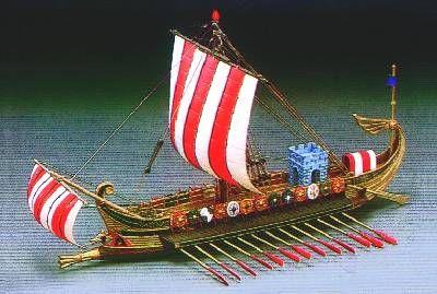Roemisches Kriegsschiff