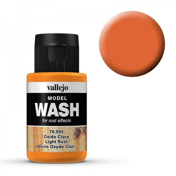 Model Wash 505 - Light Rust