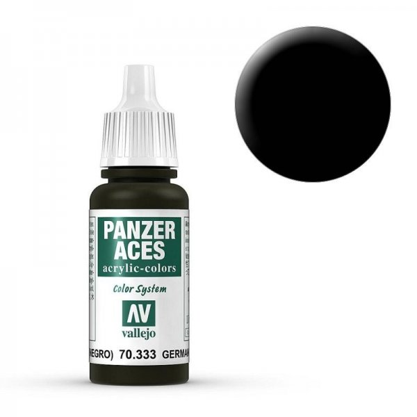 Panzer Aces 033 German Tankcrew (Black) 17 ml