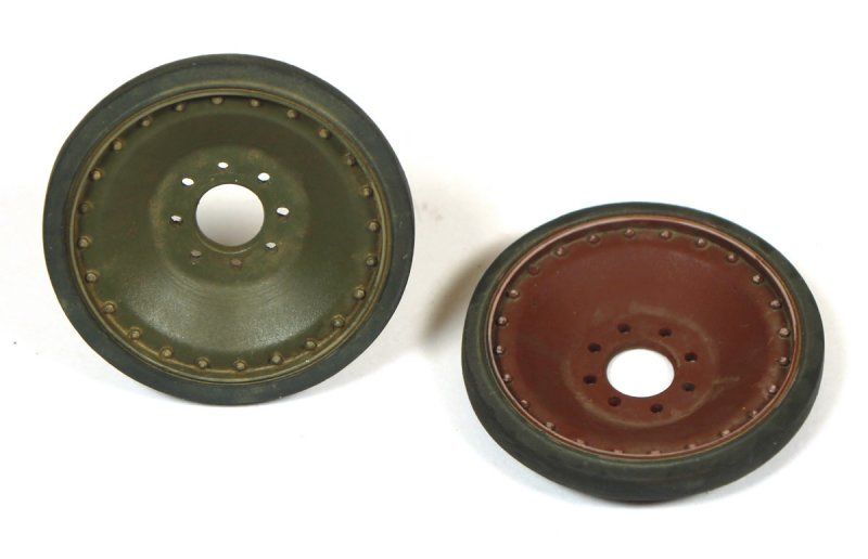 Panther Spare Wheels - Late Type
