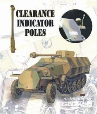 CLEARANCE POLES SDKFZ (6 PCS)