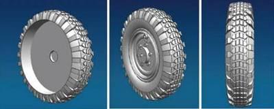 Sdkfz.221 road wheel set (Early version)