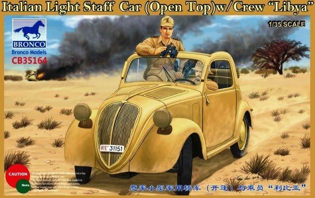 Ital. Light Staff Car Libya - Bronco Models - BRON CB35164