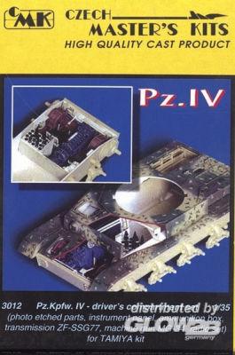 PzKpfw IV, Driver set.