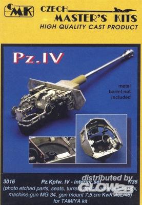 PzKpfw IV Interior Set