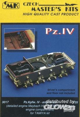 PzKpfw IV Motor Set