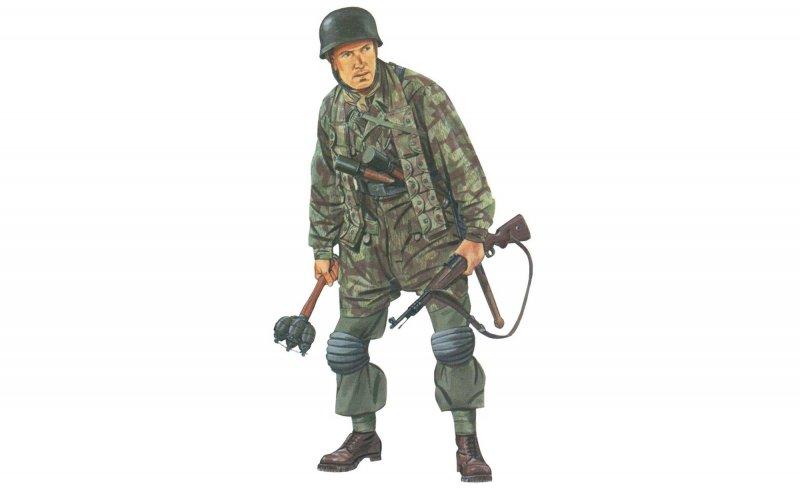 Jäger,SS-Fallschirmjäger Battal.500