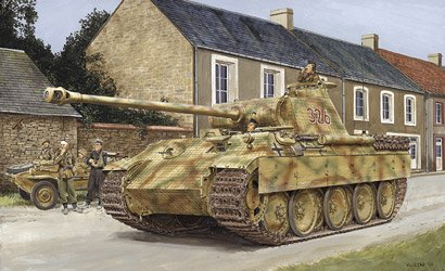 SD.KFZ. 171 Panther Late Type