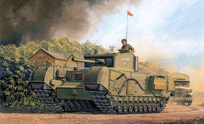 British Churchill Mk. IV - Dragon - DR 7424