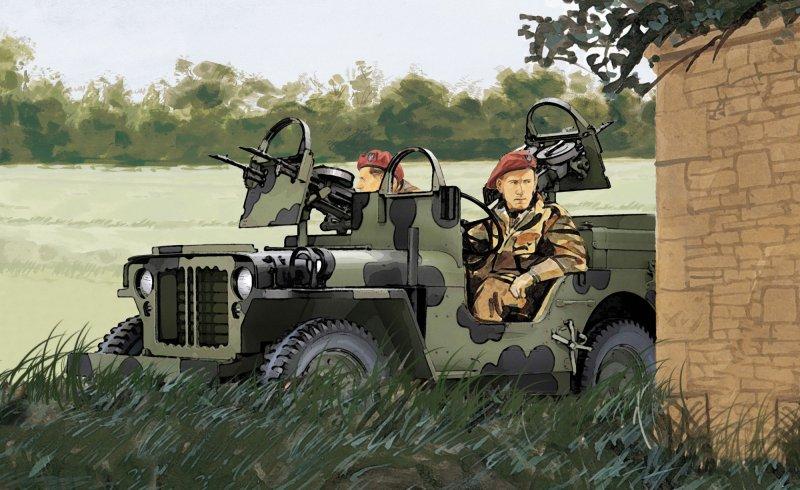 SAS Raider 4x4 Truck - Dragon - DR 7481