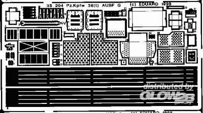 PzKpfw 38(t) Ausf. G Detailbausatz