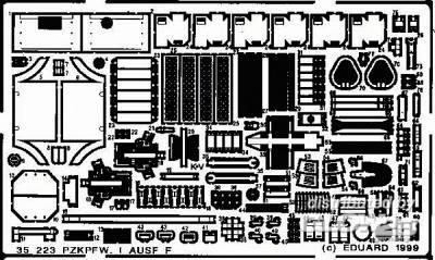 PzKpfw I Ausf.F Detailbausatz