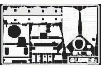 Sturmpanzer IV Brummbär SdKfz. 166 Zimmerit Fotoätzsatz