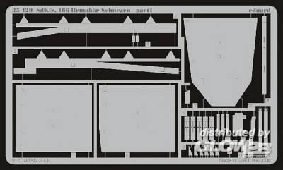 Sturmpanzer IV Brummbär SdKfz. 166 Fotoätzsatz